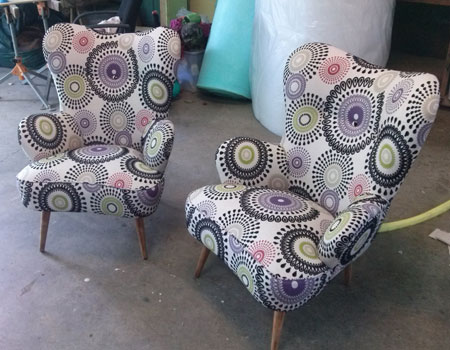 Retro Armchairs After